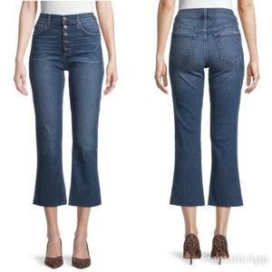 Joe's Jeans High Rise Button Fly Kick Flare 29